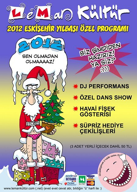 Leman Kültür Eskişehir 2012 Yılbaşı Programı