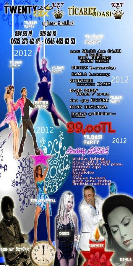 Twentysix & Ticaret Odası 2012 Yılbaşı Programı