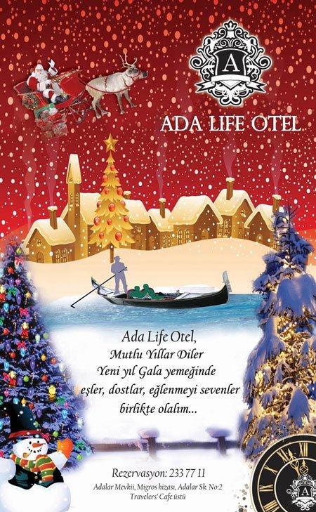 Ada Life Otel 2013 Yılbaşı Programı