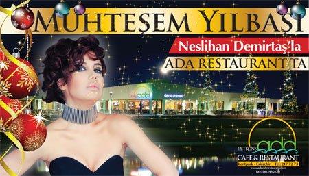 Ada Restaurant 2013 Yılbaşı Programı