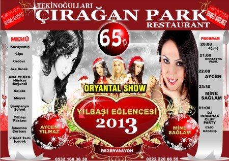 Çırağan Park 2013 Yılbaşı