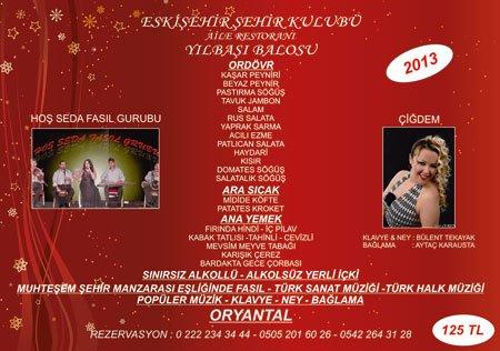 Eskişehir Şehir Kulübü 2013 Yılbaşı Programı