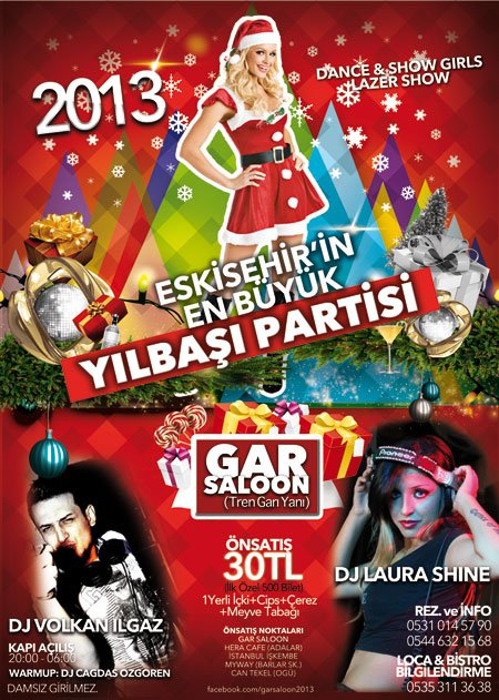 Gar Saloon 2013 Yılbaşı Programı