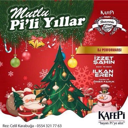 KafePi Eskişehir 2015 Yılbaşı Programı
