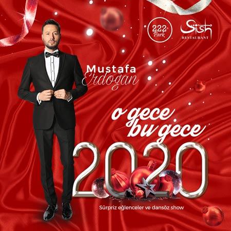222 Park Sish Restaurant Yılbaşı 2020