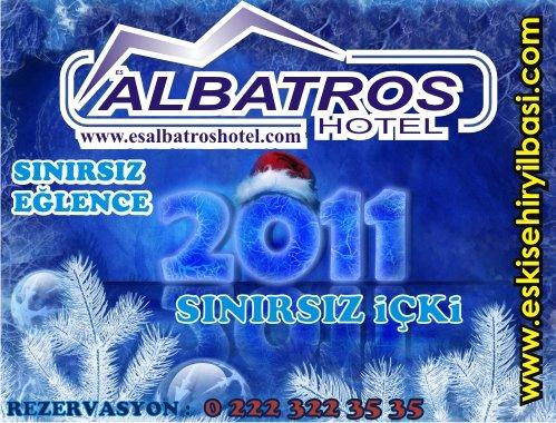 Es Albatros Hotel Roof Restaurant 2011 Yılbaşı Programı
