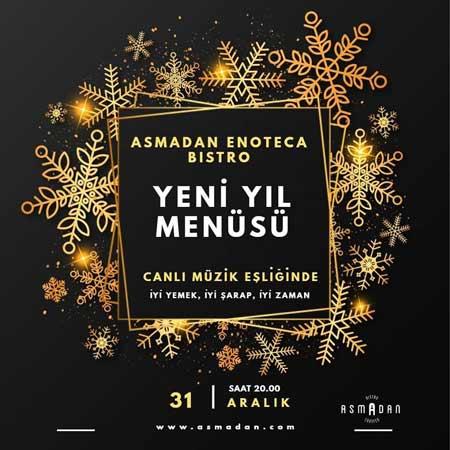 Asmadan Enoteca Bistro Yılbaşı 2020
