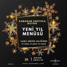 Asmadan Restaurant Eskişehir Yılbaşı 2020