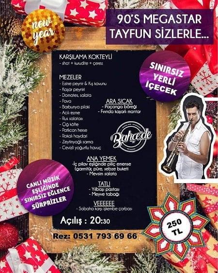 Bahçede Restoran Eskişehir Yılbaşı 2019