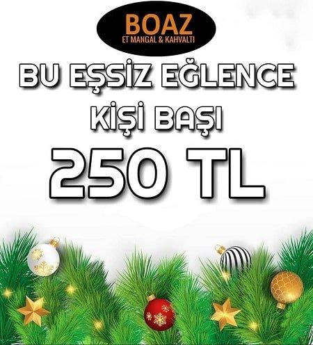 Boaz Et Mangal Eskişehir 2019 Yılbaşı