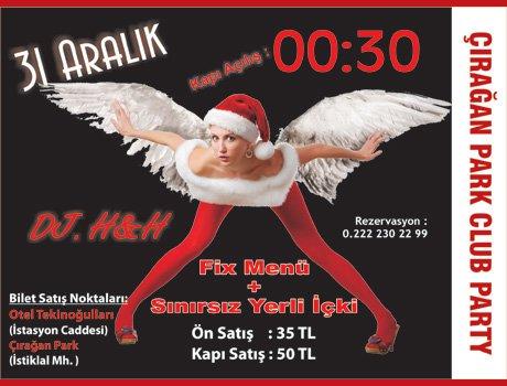 Çırağan Club Party 2011 Yılbaşı Partisi