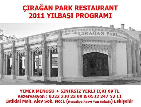 Çırağan Park Restaurant 2011 Yılbaşı Programı