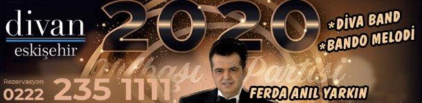 Divan Express Otel 2020 Eskişehir Yılbaşı