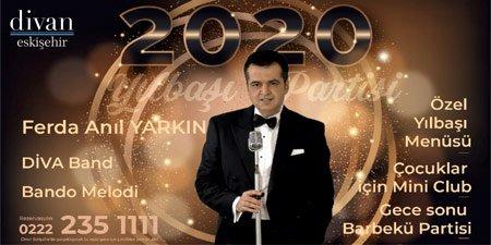 Divan Exspress Otel Eskişehir Yılbaşı 2020 Programı