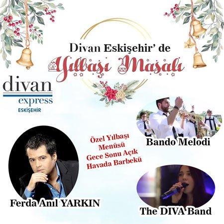 Divan Exspress Otel Eskişehir Yılbaşı 2020