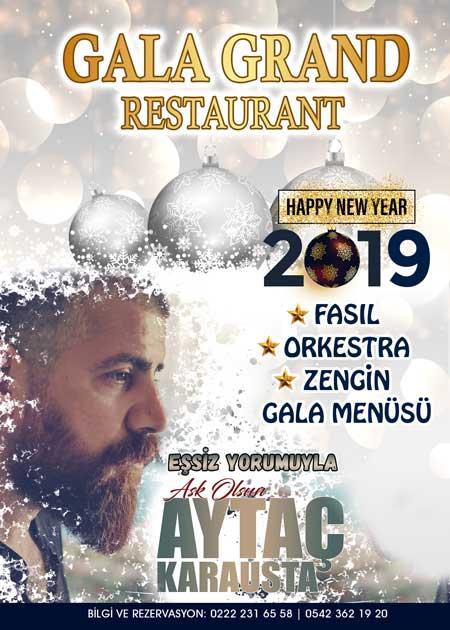Gala Grand Eskişehir Yılbaşı 2019