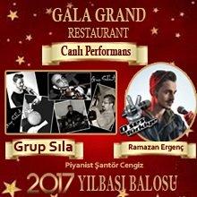 Gala Grand Yılbaşı Programı 2017