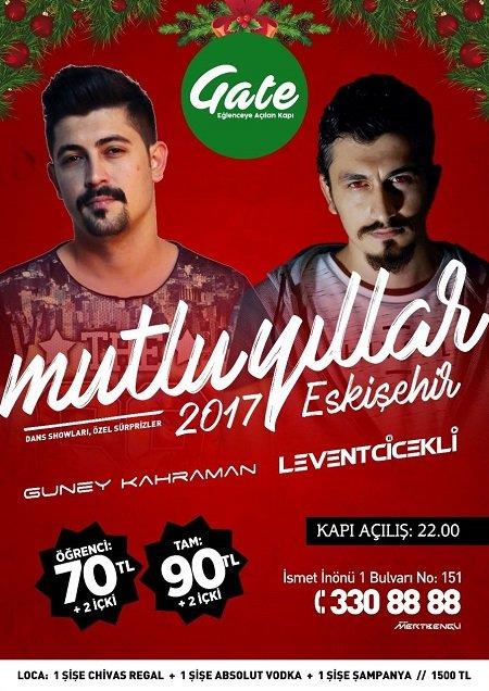 Gate Yılbaşı Programı 2017 Eskişehir