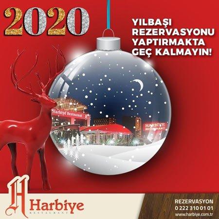 Harbiye Restaurant Eskişehir Yılbaşı 2020