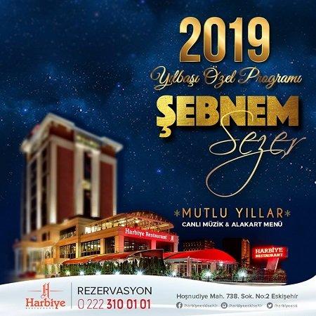 Harbiye Restoran Yılbaşı Programı 2019
