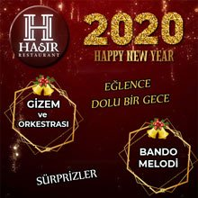 Hasır Restaurant Eskişehir Yılbaşı 2020