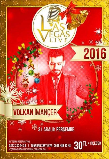 Las Vegas Cafe & Bar Yılbaşı Programı 2016