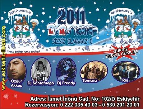 Leman Kültür Eskişehir 2011 Yılbaşı Programı