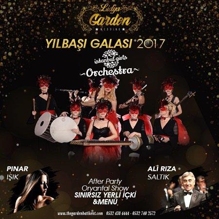 Lidya Garden Yılbaşı Programı 2017