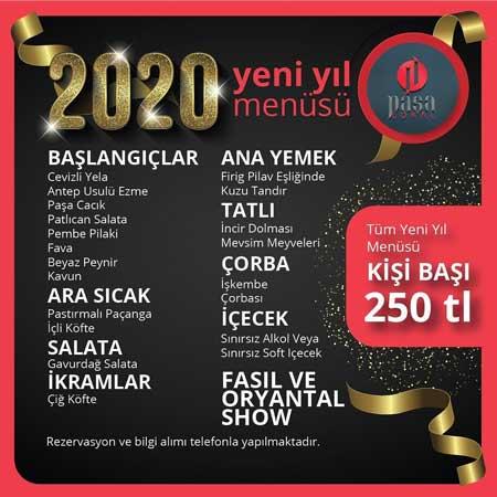 Paşa Lokal Yılbaşı Programı 2020