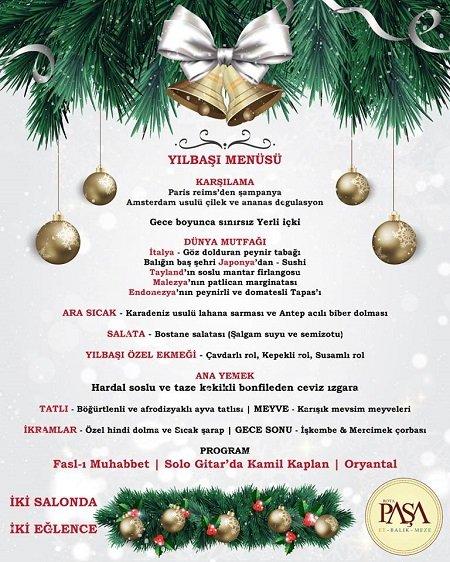 Paşa Restaurant Yılbaşı Programı 2017 Eskişehir