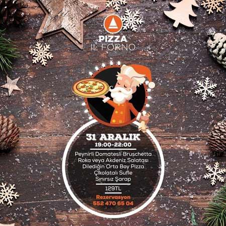 Pizza İl Forno Eskişehir Yılbaşı 2020