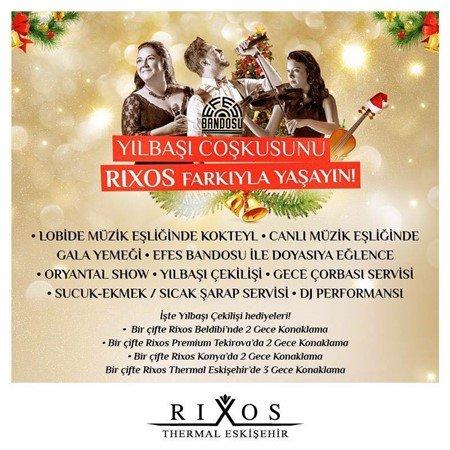 Rixos Eskişehir Yılbaşı Programı 2016