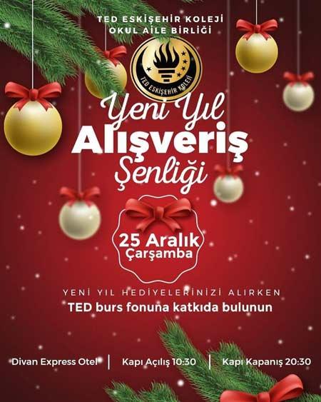 Ted Eskişehir Koleji Yılbaşı Alışveriş Şenliği 2020