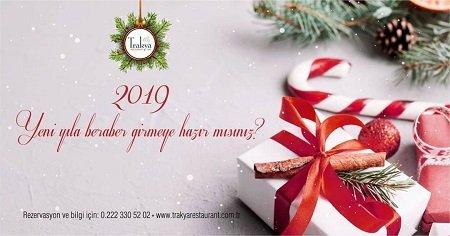Trakya Restoran Yılbaşı Programı 2019
