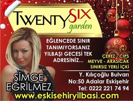 Twentysix Cafe & Bar 2011 Yılbaşı Programı
