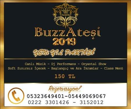 Buzz Ateşi Yılbaşı Programı 2019