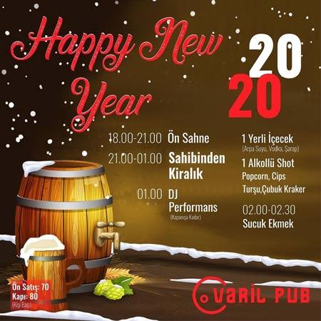 Varil Pub Eskişehir Yılbaşı 2020